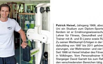 Forum Magazin Ausgabe 2014/30, Beilage Gesundheit: Patrick Heisel macht Sie fit für den Sommer