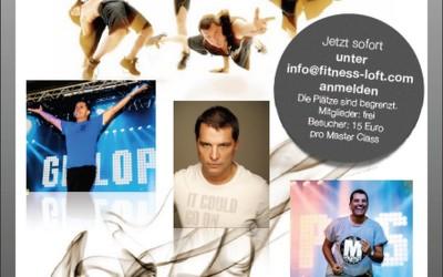 Fitness Loft Saarbrücken: Masterclass mit dem weltweit erfolgreichen Groupfitness-Presenter Guillermo Gonzales Vega!