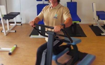 Patrick Heisel, SportArt Völklingen: Training in der Winterpause