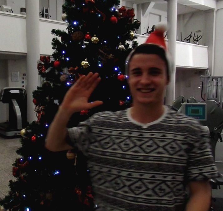 Frohe Weihnachten und gesundes neues Jahr