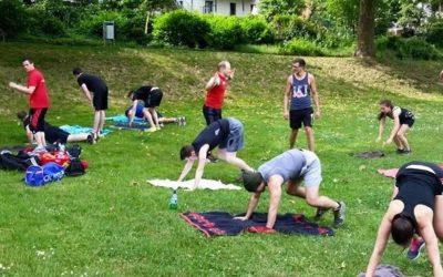 Jetzt Neu: Outdoor Fitness Saar! Kurse starten im Mai!