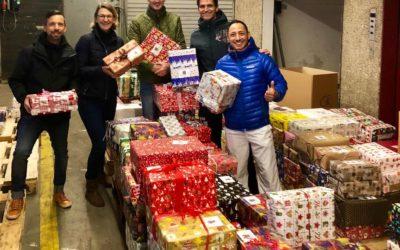 QFiSa sammelte 488 (!) Geschenke für den Weihnachtspäckchen-Konvoi