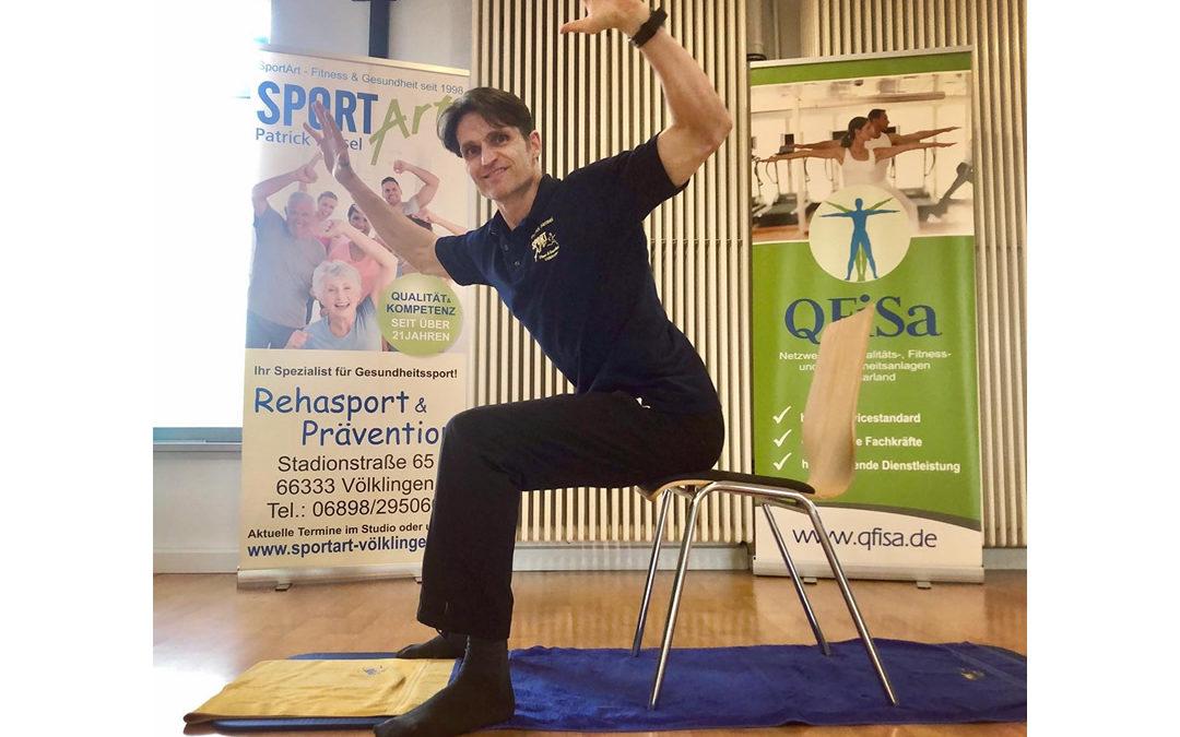 Online-Sprechstunde mit Patrick Heisel, Inhaber SportART Völklingen
